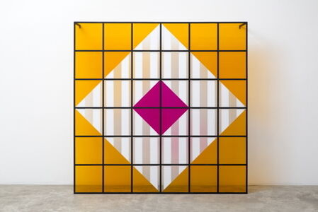 Daniel Buren, 'Colors, light, projection, shadows, transparency - n° 9: situated works', 2015