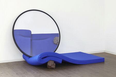 HIROFUMI ISOYA, 'Parallax Gesture (Blue, Red)', 2016