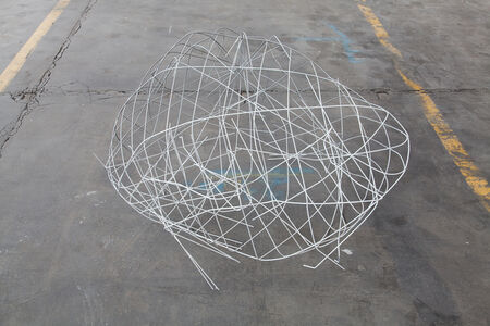 Clemens Wolf, 'Fence Drawing Sculpture', 2016