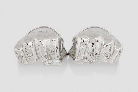 Joel Morrison, 'Hold Fast/Love Bracelets (Cartier)', 2018
