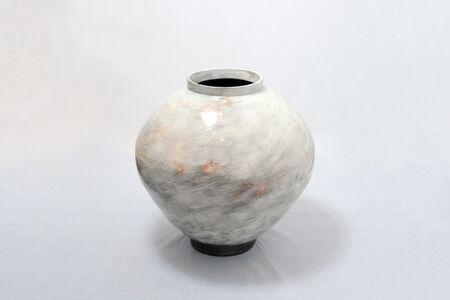 Kang Hyo Lee, 'Buncheong Moon Jar 33', 2018