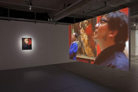 Emilio Lopez-Menchero, 'Autoportrait adolescent de mon éblouissement jaloux et de mon ébahissement illimité face à l'Histoire de la Peinture !  ( Teenage self-portrait of my jealous bedazzlement and my limitless amazement at the History of Painting ! )', 2011
