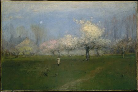 George Inness, 'Spring Blossoms, Montclair, New Jersey', ca. 1891