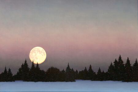 David Vickery, 'Boreal Moonrise', 2018