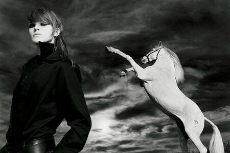 Patrick James Michel, 'Horse and Model 2', 2003