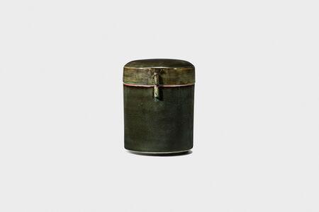 Kwang-yeol Yu, 'Celadon Lidded Bowl in Underglaze Iron', 2006