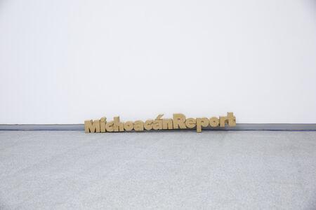 Yutaka Sone, 'Title Sculpture of Michoacán Report', 2016