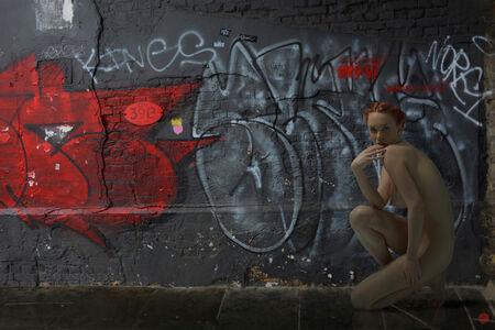Michael Yamaoka, 'London Graffiti', 2019