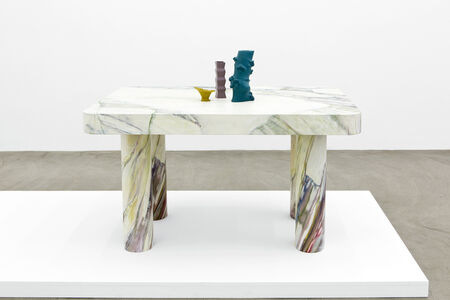 Laurent Dupont and Lucy McKenzie, 'Table & 3 Prague Objects', 2015