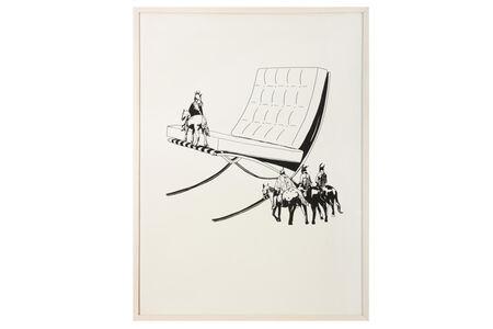 Virginie Barré, 'Apsarokes & Barcelona Armchair by Ludwig van der Rohe, 1929-2948', 2006