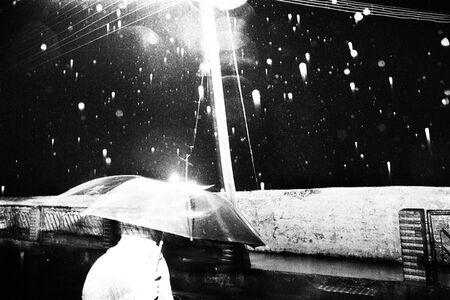 """Sohrab Hura, 'Rainy night in Kodaikanal, India. """"Life is Elsewhere""""', 2007"""