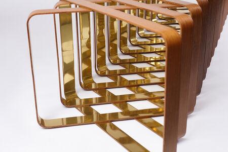 Ronald Scliar Sasson, 'Contemporary Kansai Bench in Wood and Metal by Brazilian Designer Ronald Sasson', 2016