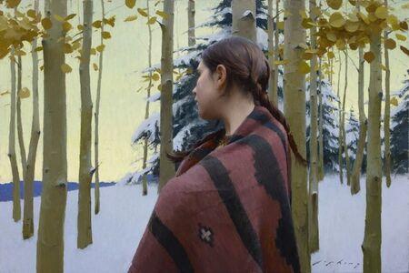 Jeremy Lipking, 'Autumn Snow', 2016