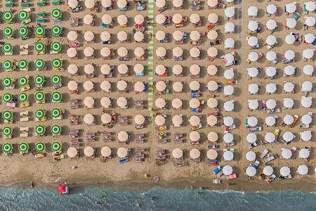Bernhard Lang, 'Aerial Views, Adria 13', 2014