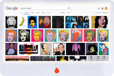 ORANGE JUICE, 'Pop Art Is For Everyone', 2020