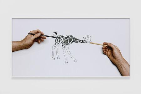 Larry Johnson, 'Untitled (Raven Row Giraffe)', 2015