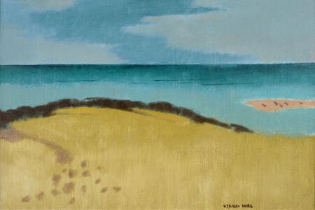 Herman Maril, 'Gulls on the Bar', 1985