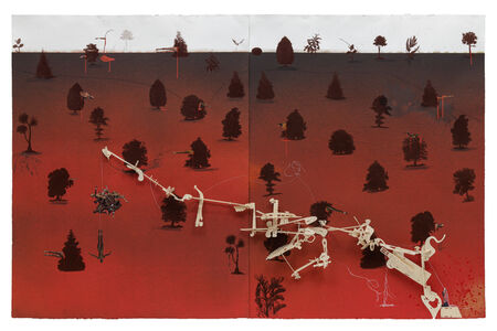 Hema Upadhyay, 'UNIVERSE REVOLVES ON (XVI)', 2008