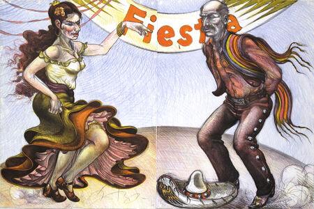 Luis Jimenez, 'Fiesta Dancers', 1985