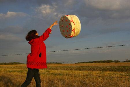 Amalie Atkins, 'Cake Toss', 2008