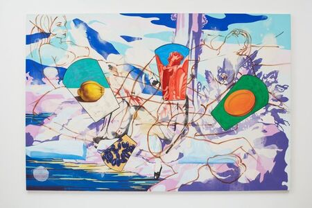 David Salle, 'Ice Flow II', 2001
