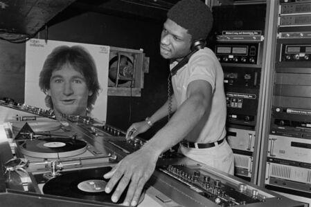 Bill Bernstein, 'Paradise Garage DJ Larry Levan', 1979