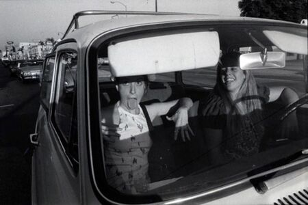 Mike Mandel, 'Untitled (from the series People in Cars)', 1970