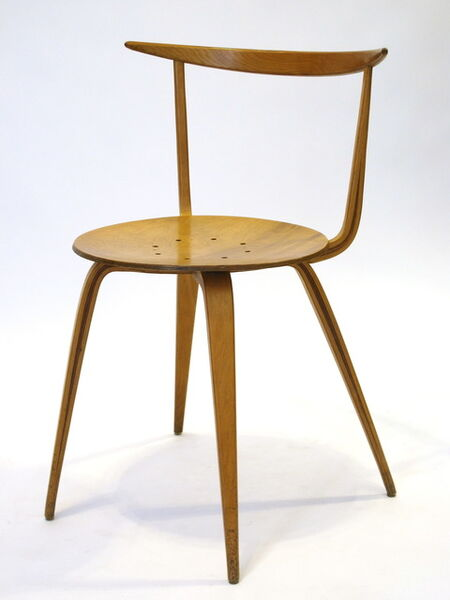 George Nelson, 'Pretzel Chair', 1957