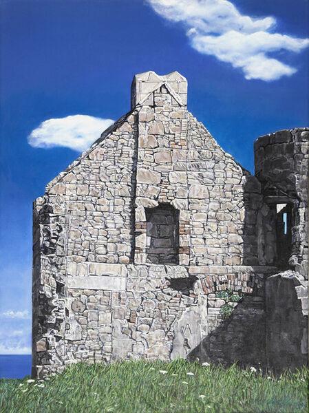 Agnes Murray, 'Slains Castle with the North Sea 2', 2020