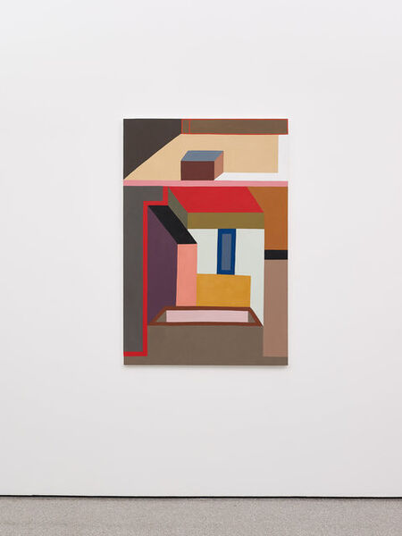 Nathalie Du Pasquier, 'Like a fly on the map of the world', 2018