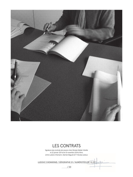 Ludovic Chemarin©, 'Les contrats', 2015