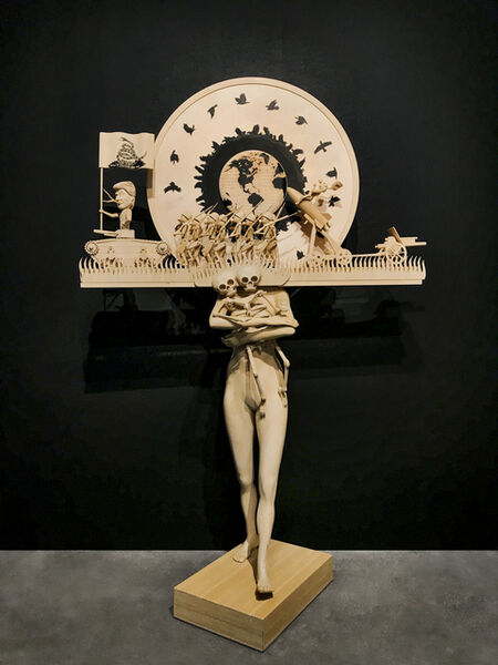 John Buck, 'The Mother of All Wars', 2018