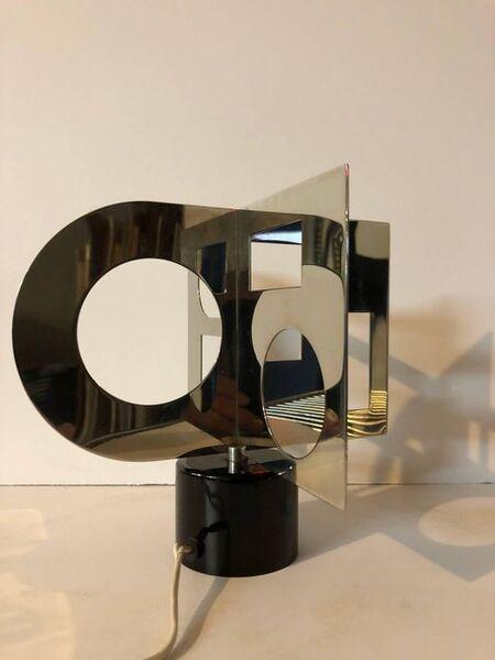 Nicolas Schoffer, 'Motorized Kinetic Sculpture 'Minisculpture' Op Art Denise Rene Galerie Paris', 1960-1969
