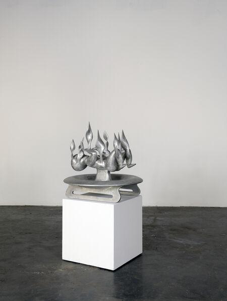 Bruno Gironcoli, 'Brennendes Kind I', 1998-1999