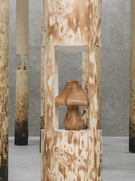 Claudia Comte, 'The Mushroom', 2018