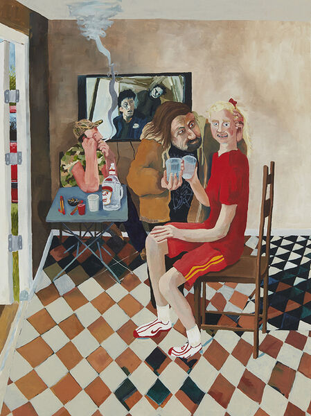 Celeste Dupuy-Spencer, 'Two Guys and a Girl', 2016