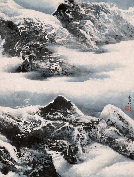 Liu Kuo-sung 刘国松, 'Tibet Series – Floating Garin', 2000