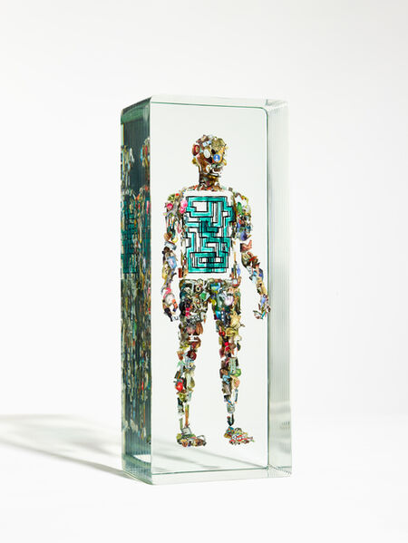 Dustin Yellin, 'Mini Psych #21', 2019