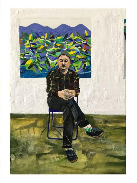 Raffi Kalenderian, 'Darcy in the Studio', 2016