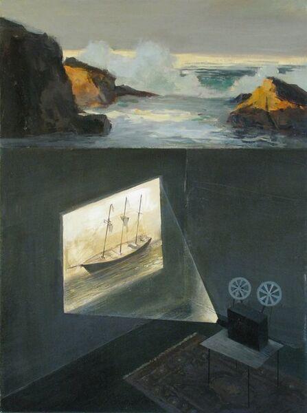 Jeremy Miranda, 'Shipwreck in the Surf', 2012