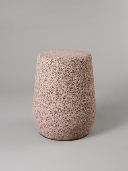 Djim Berger, ''Lightweight Porcelain' Stool and Side Table', 2010-2019