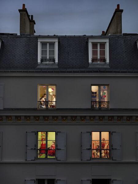 Gail Albert Halaban, 'Rue Lemercier, Paris, 17e, le 17 novembre', 2013