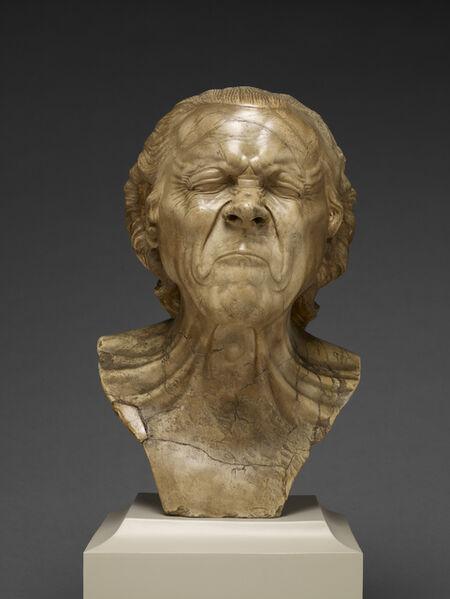 Franz Xaver Messerschmidt, 'The Vexed Man', 1770