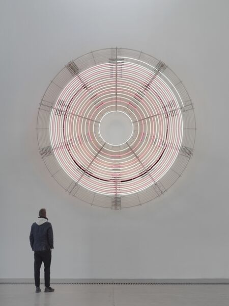 Carsten Höller, 'Decimal Clock (White and Pink)', 2018