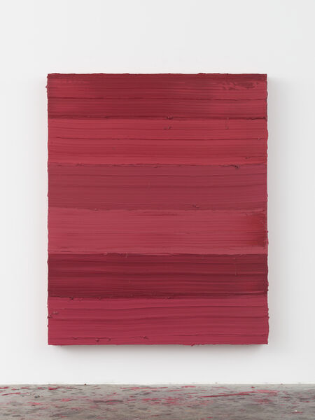 Jason Martin, 'Untitled (Ruby Lake / Ideal Rose)', 2018