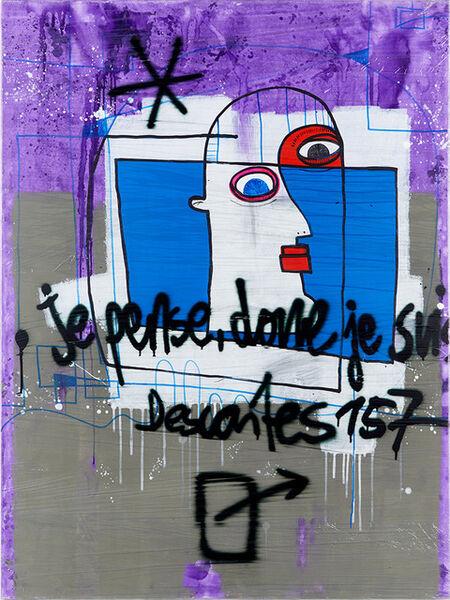 Kay Schwarz, 'Rene Descartes', 2016
