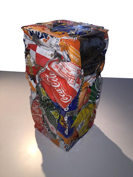César, 'Compression de canettes', 1988-1990