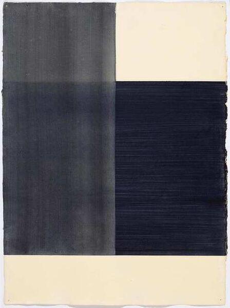 Callum Innes, 'Exposed (black)', 1997