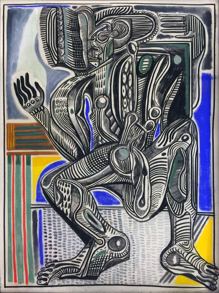 Zio Ziegler, 'Internal Figuration', 2015