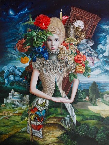 Luis Enrique Toledo del Rio, 'The Mistress of The Mantle', 2017